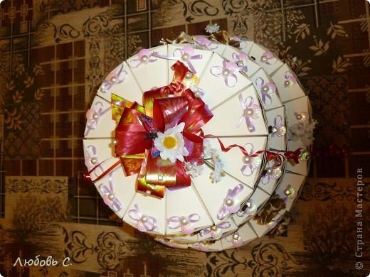 Торт бонбоньерки мастер класс