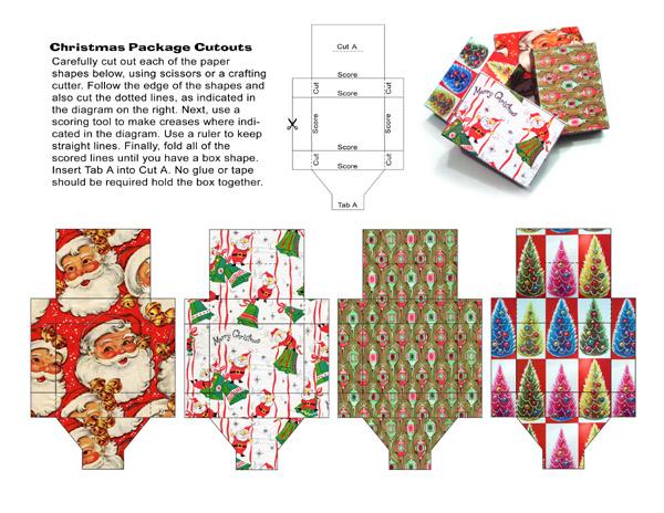 Как упаковать новогодний
