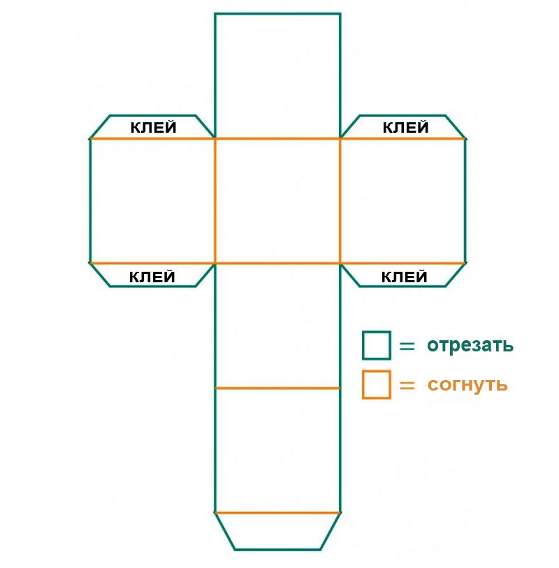 Коробочка из картона своими руками шаблоны