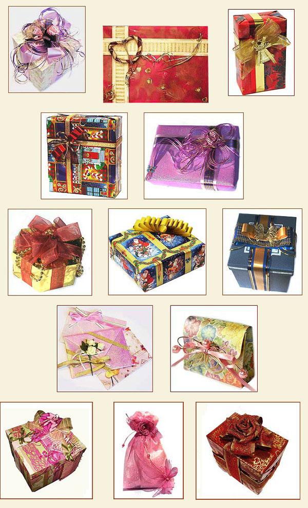 Как упаковать подарок и