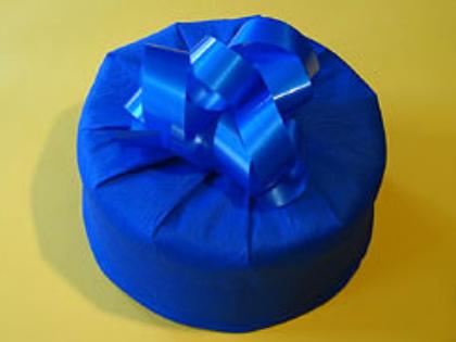 Круглая упаковка подарков своими руками