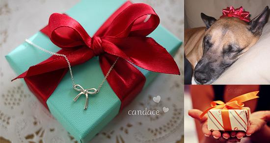 бант для упаковки подарка.