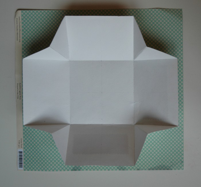 Крышку для коробки можно