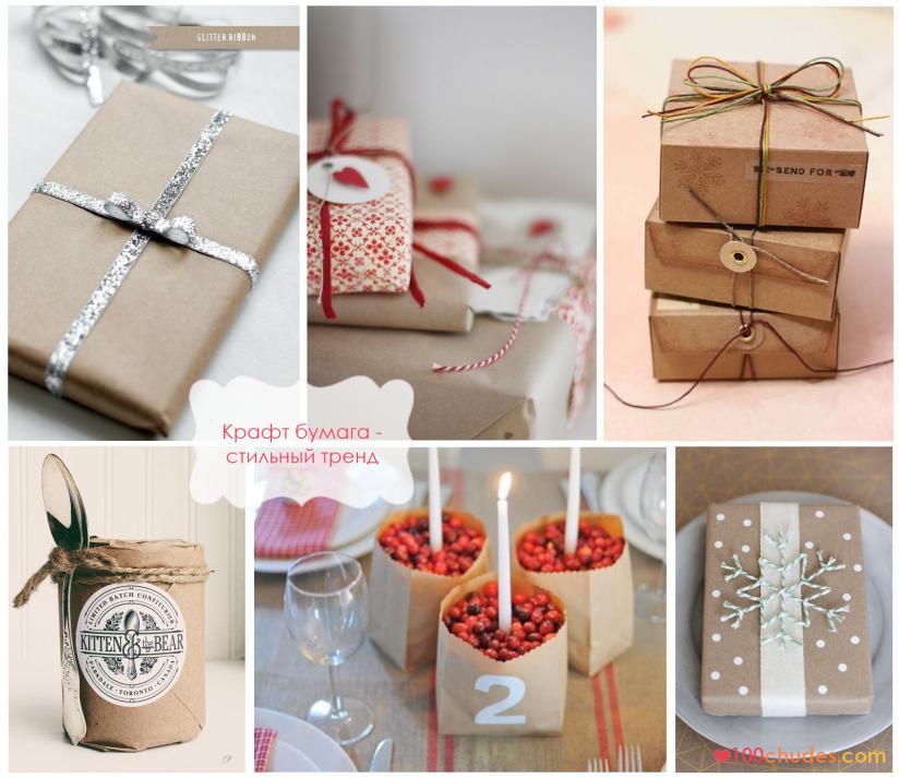 Необычные упаковки для подарков своими руками
