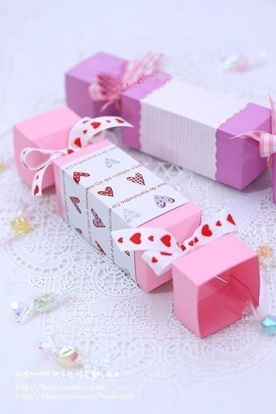 Подарочные коробки конфет своими руками