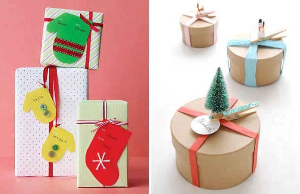Оригинальная новогодняя упаковка подарков своими руками