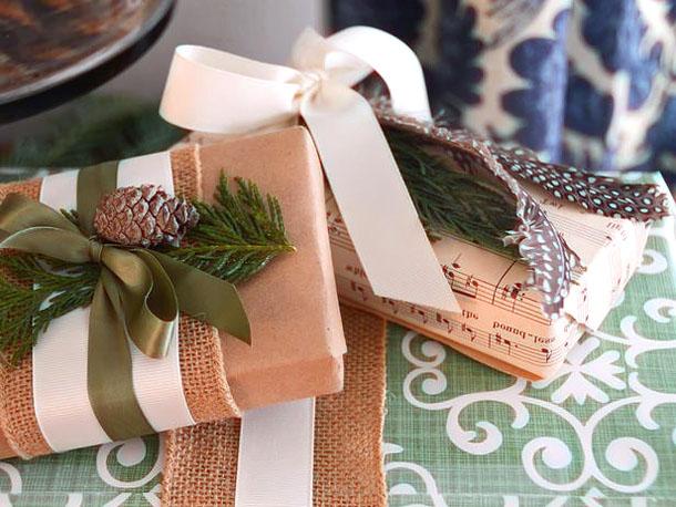 Упаковка новогодних подарков своими руками фото