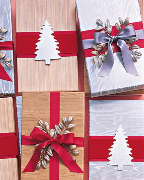 Украшение подарков на новый год своими руками