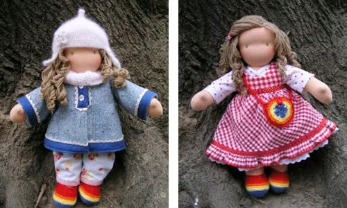 Как научится делать куклы своими руками