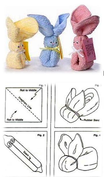 Как из полотенца сделать игрушку