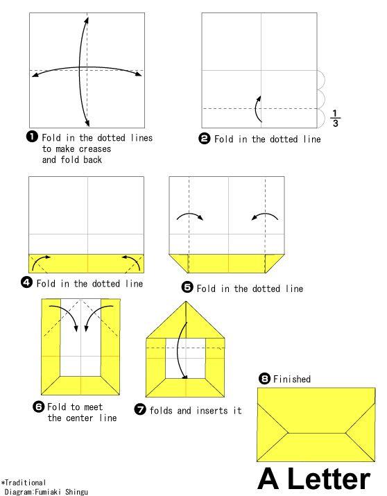 Как сделать конверт для письма своими руками видео