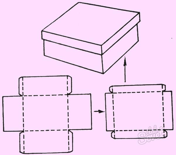 Сделать шкатулку из бумаги своими руками