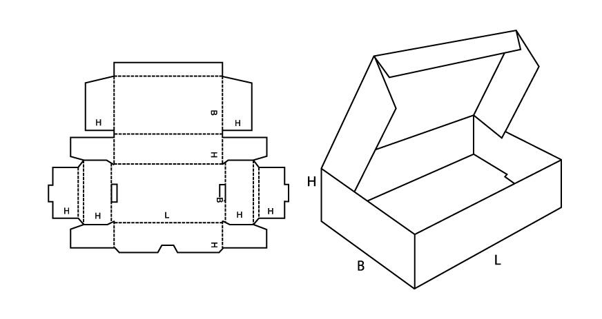 Сделать коробочку с крышкой из картона своими