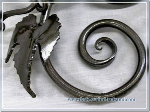 Художественная ковка по металлу своими руками