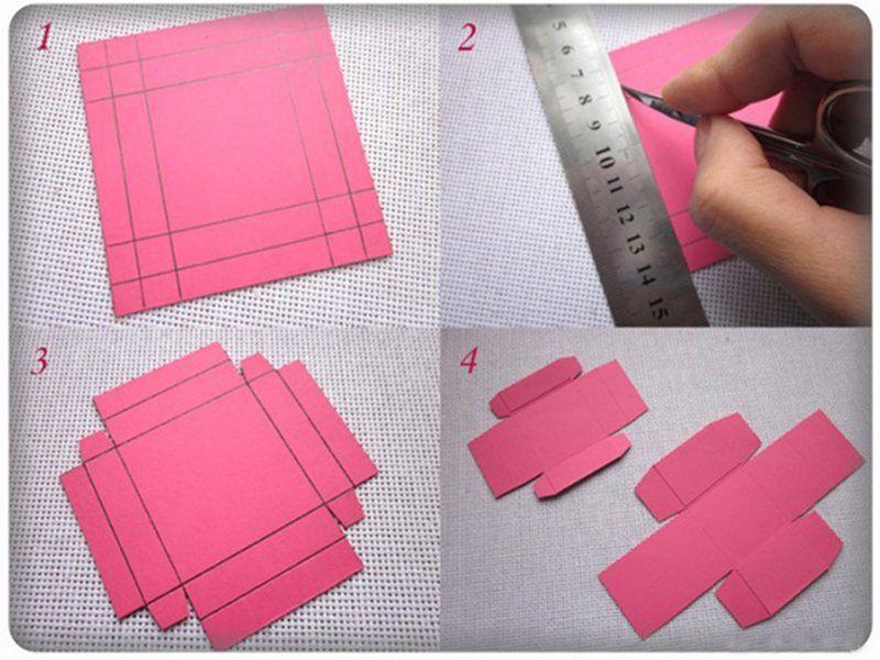 Как сделать коробочку своими руками для кольца
