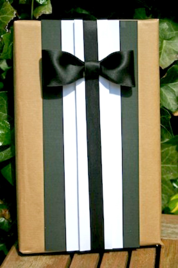 Упаковываем подарок своими руками мужчине
