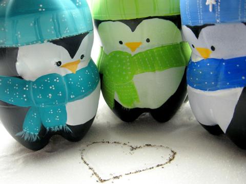 ОргалНовогодние игрушки своими руками пингвин