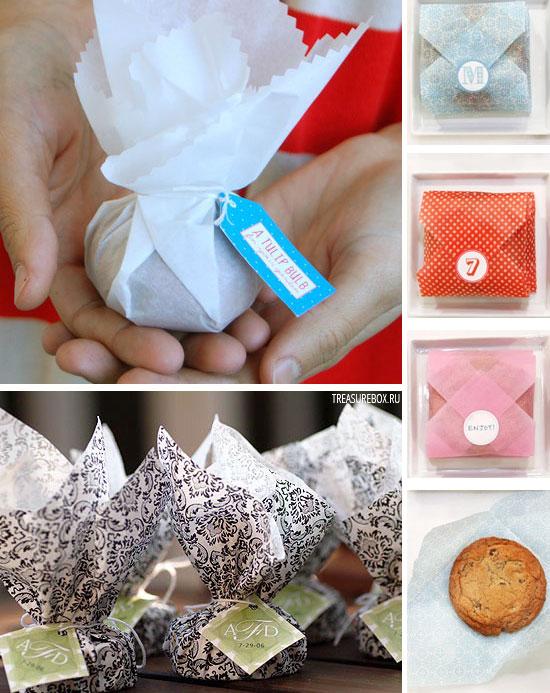 Как упаковать печенье своими руками