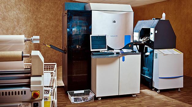 Цифровая печатная машина HP