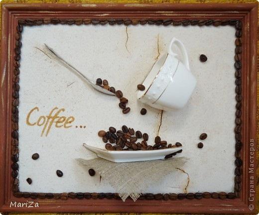 Дерево из кофейных зерен своими руками мастер
