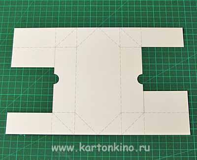 Как сделать коробку для конфет из бумаги