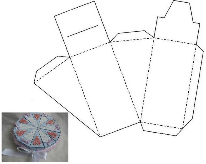 Как делать из бумаги коробочки для подарков своими руками 51