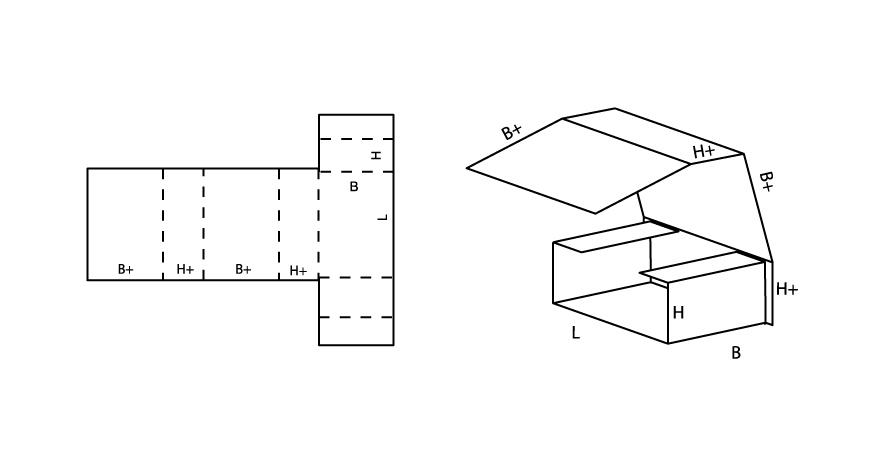 коробки оберточного типа и