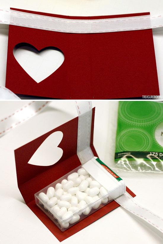 Во что упаковать конфеты своими руками