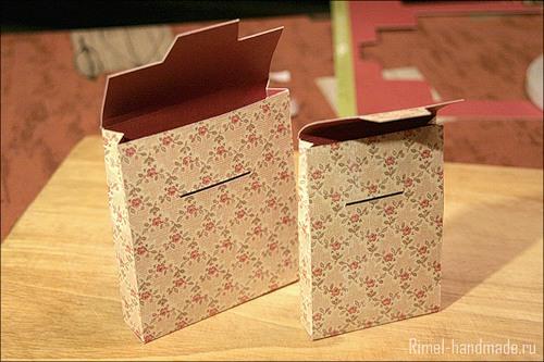 Бумажная упаковка своими руками