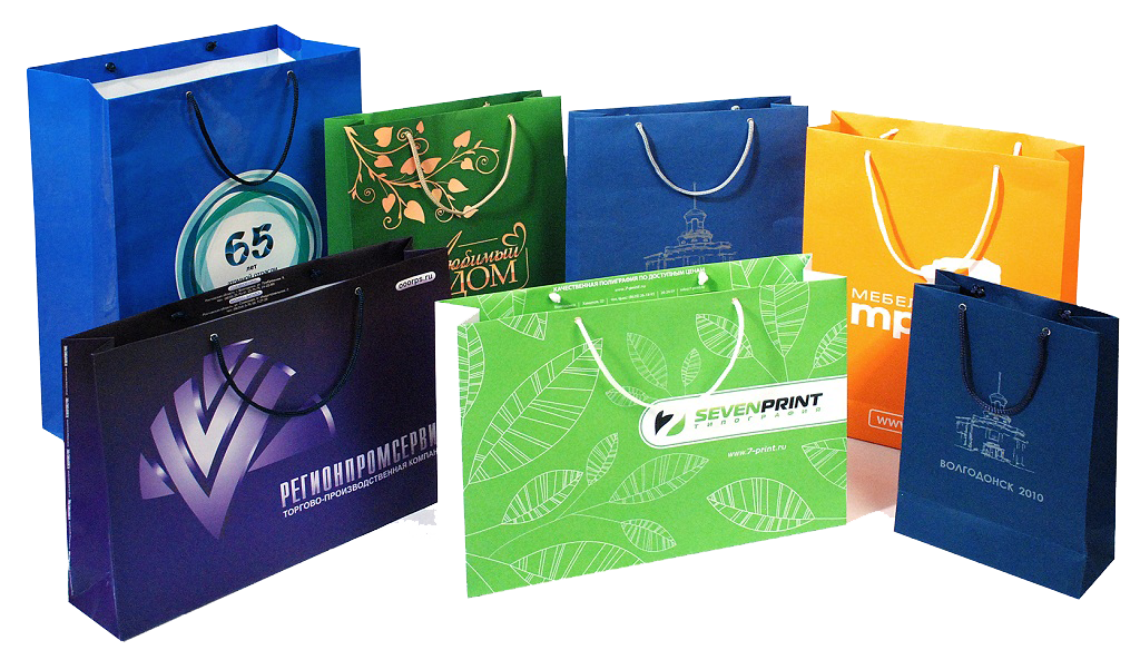 Дизайн пакета с логотипом