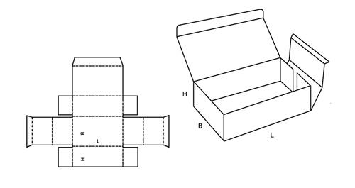 Коробка из картона своими руками прямоугольная