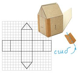 Как сделать домик из бумаги своими руками инструкция